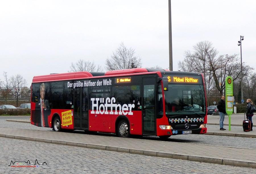 Der Nahverkehr Großraum Nürnberg Bus